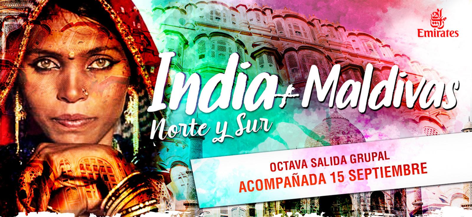 India + Maldivas 2018 - Salida Grupal